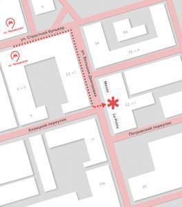 карта проезда в Москве